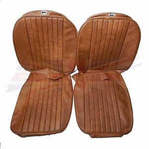 New Seat Covers Upholstery Mgb 1973 80 Made In Uk Autumn Leaf Sc125k