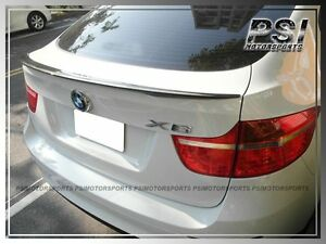Carbon Fiber Oe Performance Look Trunk Lip Spoiler For 08 13 Bmw E71 X6 M