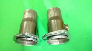 2 5 3 Bolt Header To 2 25 od 409 Stainless Socket Collector Reducer W 02 Bung