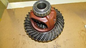 Allis Chalmers 190 Xt Differential Ring Gear And Carrier