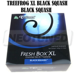 Treefrog Fresh Box Xl Air Freshener Jdm Extra Large 400g Scent Black Squash