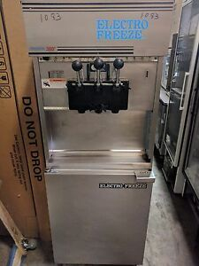 Electro Freeze 88t rmt Soft Serve Ice Cream Frozen Yogurt Machine 1083