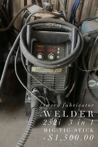 Tweco Fabricator Welder 252i 3 in 1 Mig sith Stick