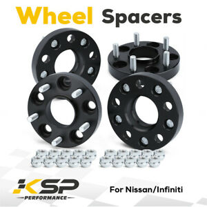 4pcs 25mm 5x4 5 5x114 3mm Hub Centric Wheel Spacers M12x1 25 66 1mm For Nissan