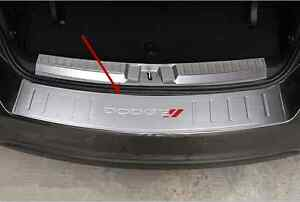 1x Outer Rear Bumper Protector Sill Plate Cover Trim For Dodge Journey 2013 2016