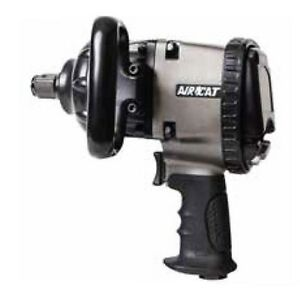 Aircat 1 Xtreme Duty Pistol Grip Two Jaw Hammer Impact Wrench 1890 p