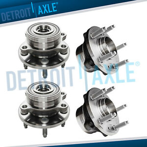 Set 4 New Front Rear Wheel Hub Bearing Assembly For 11 16 Ford Explorer