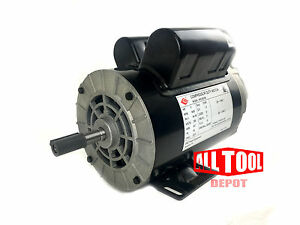 3 Hp Spl 3450 Rpm 56 Frame 230v 15amp 5 8 Shaft Single Phase Nema Motor