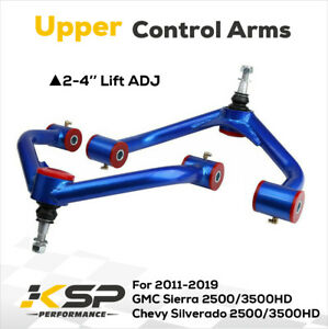 2 4 Upper Suspension Control Arms Lift Kit For Chevy Silverado 2500hd 3500hd