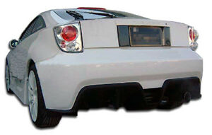 00 05 Toyota Celica Duraflex Bomber Rear Bumper 1pc Body Kit 100172