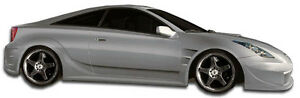 00 05 Toyota Celica Duraflex Gt300 Wide Body Side Skirts 2pc 104510