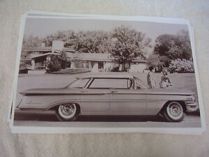 1960 Oldsmobile 98 Holiday Sports Sedan 11 X 17 Photo Picture