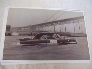 1967 Amphicar In Water Contest Car 11 X 17 Photo Picture