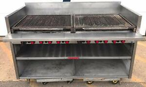 Natural Gas Magikitch n 60 Fmrmb60 Radiant Charbroiler Grill Restaurant Freeshi