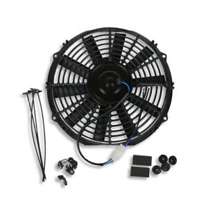 10 Inch Universal Slim Fan Push Pull Electric Radiator Cooling 12v 1570 Cfm Fan