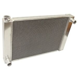 2 Row Fabricated Aluminum Radiator 28 X 19 X3 For Universal Ford Mopar