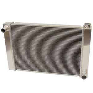 New 31 X 19 X3 Full Aluminum Welded Radiator 2 Row For Racing Chevy Universal