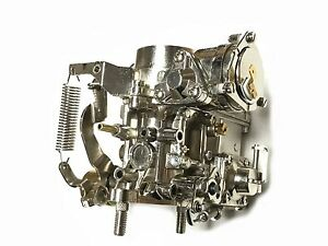 34 Pict 3 Chrome Vw Bug Bus Volkswagen Carb 12v Electric Choke