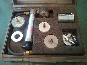 Otc Saturn Sa9141e Cooling System Test Kit With Snap On