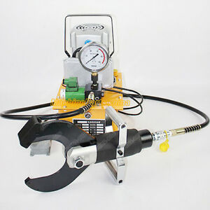 Hydraulic Cable Cutter Armoured Cu alu Cable With Electric Pump Cpc 120c