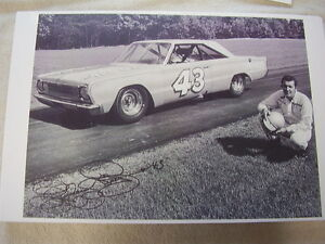 1965 Plymouth Richard Petty And Car 43 11 X 17 Photo Picture