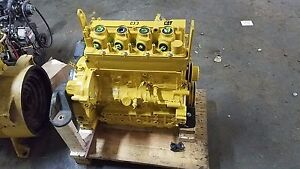 Caterpillar C3 3b Dit Engine Rebuilt Long Block From Cat 257d Skid Steer Loader