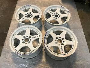 Jdm 15 Work Rsz R Rare Wheels Rims 4x100 Ctr Itr Civic Integra Crx Delsol