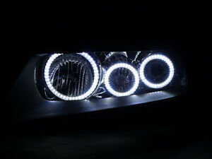 X6 Led Angel Halo Rings For 2004 08 Acura Tsx Oem Headlight Cl7 Cl9 Euro Accord