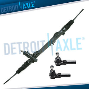 Complete Power Steering Rack And Pinion Outer Tie Rod Ends For 2005 10 Mustang