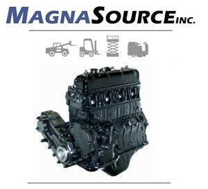Mazda Ua Forklift Engine Pto Version 13 Month Warranty Magna Source