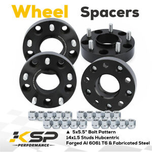 2011 2018 Ram 1500 1 5 Hub Centric M14x1 5 5x5 5 Wheel Spacers Adapters