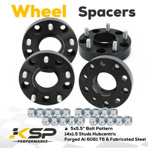 2012 2018 Ram 1500 1 5 Hub Centric M14x1 5 5x5 5 Wheel Spacers Adapters