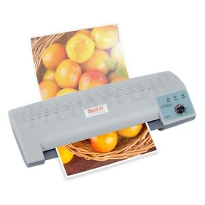 Mq 230 A4 Document Photo Cards Pouch Laminator Machine Hot cold Thermal Roller