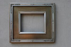Custom Hand Made Wide Vine Carve Silver Frame Any Size Up To 16x20