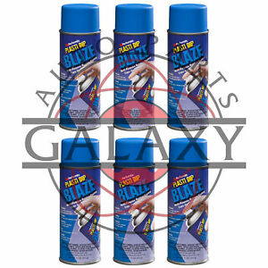 Performix 11219 Plasti Dip Blaze Blue X6 11 Oz Spray Can