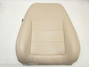 2013 Vw Passat Leather Seat Cushion Upper Ivory Hw Front Right Oem 11 12 14 15