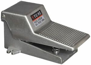 Gray Metal 2 Position 3 Way Momentary Foot Pedal Operated Valve Air Switch