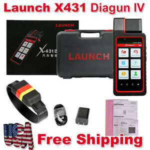 Usa Ship Launch X431 Diagun Iv Code Scanner Diagnostic Tool With Brake Oil Reset