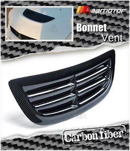 Carbon Fiber Bonnet Scoop Hood Air Vent Intake For Mitsubishi Evolution Evo 8 9