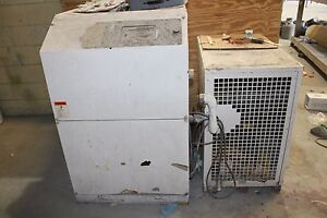 Air Compressor 25h dryer White Used Good Condition