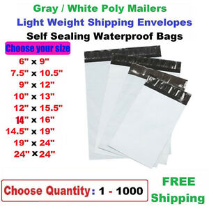 Wholesale Poly Mailers Shipping Envelopes Plastic Self Sealing Mailing Bags Hot