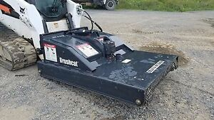 Bobcat Brushcat 60 Rotary Mower Bush Hog Compact Tracked Skid Loader Attachment