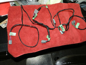 New Stereo 4 Speaker Dash Harness 68 69 70 Charger roadrunner gtx satellite