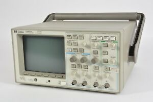 Hp Agilent 54601a 4 channel 100 Mhz Oscilloscope W 54650a Hpib Interface