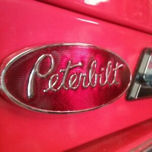 Vintage Peterbilt Hood Emblem Magnet For Your Snap On Tool Box 3 1
