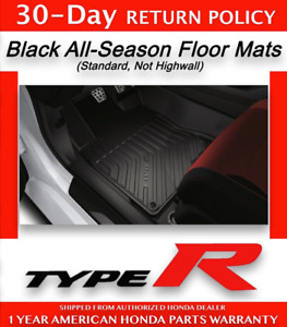 Genuine Oem 2017 2019 Honda Civic Type R All Season Floor Mats 08p17 Tba 100