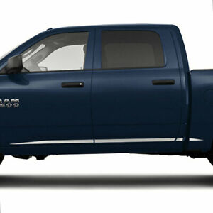 Accent Trim For 2009 2018 Dodge Ram 1500 Crew Cab stainless Steel Lower 8p