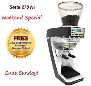 Baratza Sette 270wi Espresso Grinder Free Coffee New Model Authorized Dealer