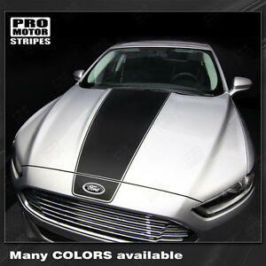 Ford Fusion Hood Accent Graphic Stripes Decals 2013 2014 2015 2016