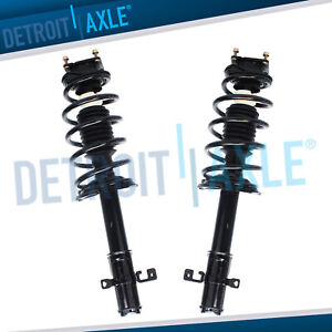 2 Front Strut W Spring For 2011 2012 2013 2014 2015 Ford Edge Lincoln Mkx